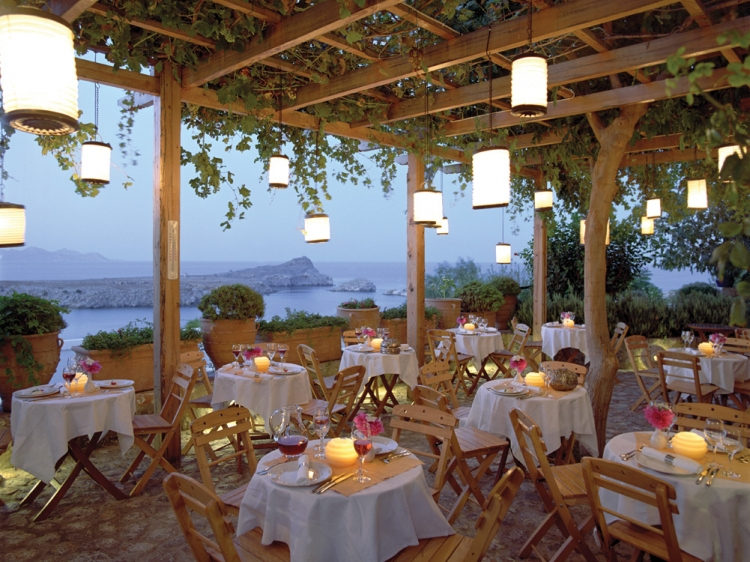 Melenos Lindos Hotel is a luxury hotel located in Lindos, Rhodes Island best