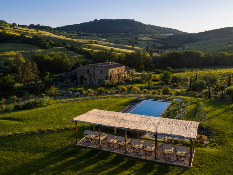 follonico hotel tuscany design boutique romantic beste small