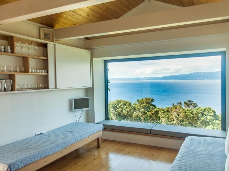 Terr'alta sala Casa da Terraltavista Azores House Pico