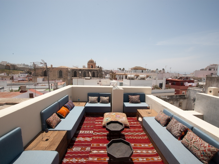 The riad Tarifa hotel b&b charming and small