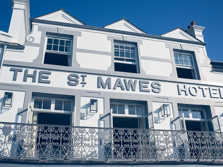 St Mawes Hotel Corwell hotel best small b&b