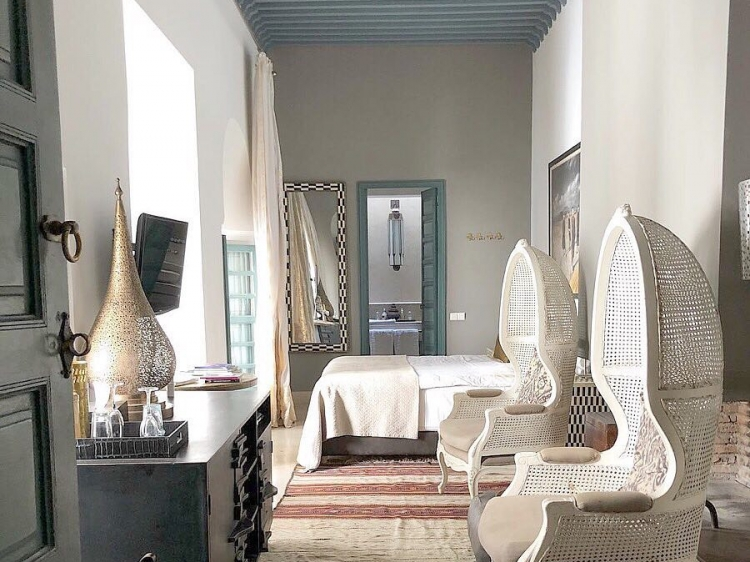 Ryad Dyor Luxus Boutique hotel Marakesh b&b design best