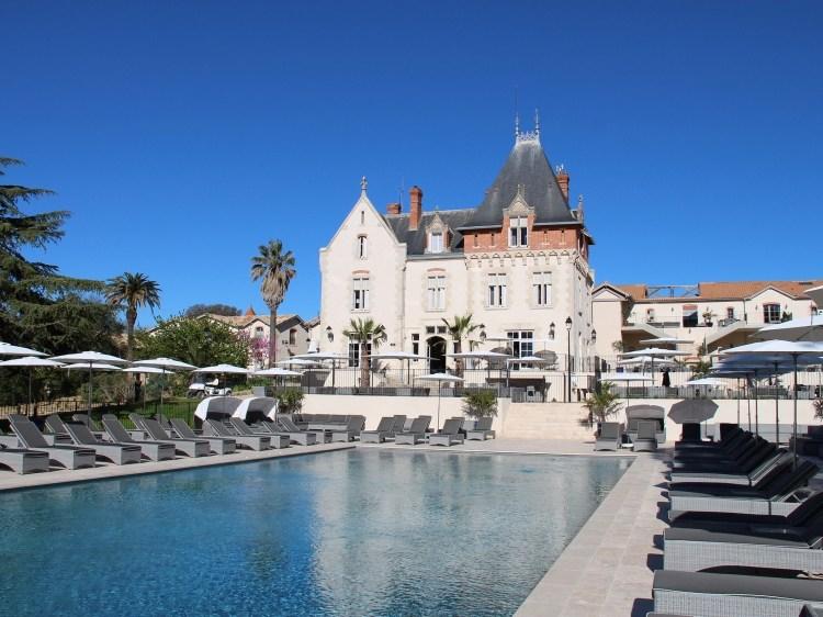 Chateau St Pierre de Serjac wine country france