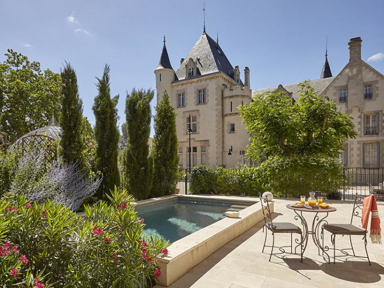 CHATEAU LES CARRASSES b&b luxus romantic