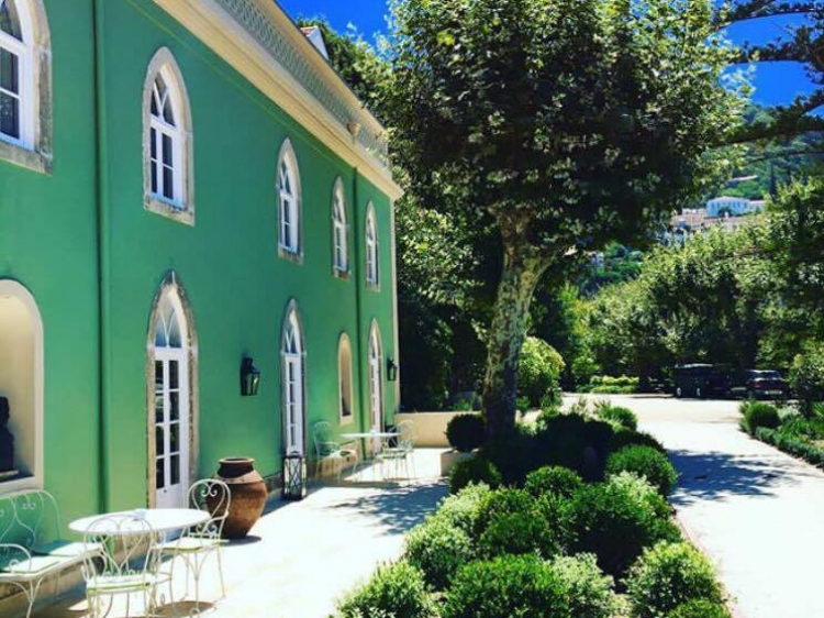 Casa Holstein Sintra boutique hotel b&b charming romantic