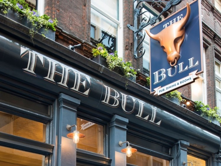 The Bull and The Hide  pub hotel b&b London best small boutique
