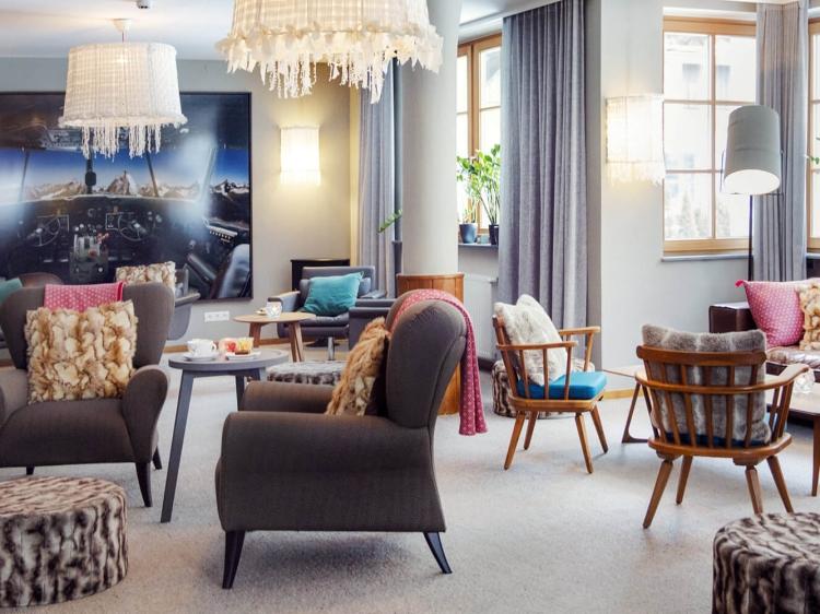Hotel Valluga Sankt Anton in Arlberg hotel / Austria boutique design b est