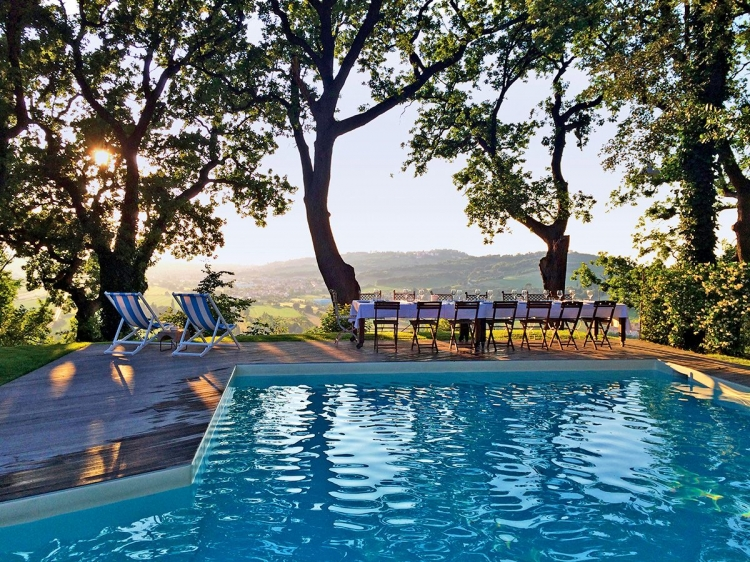 Granarola Castle boutique hotel Marche B&B best charming