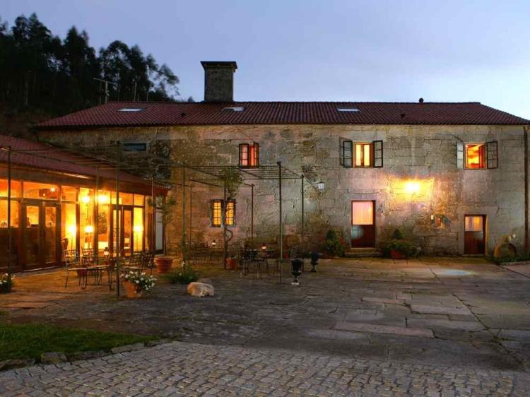 Casa grande de Bachao la coruna galicia hotel b&b best small romantic