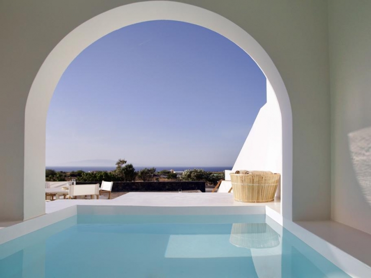 santorini villa oia vino houses best boutique apartments