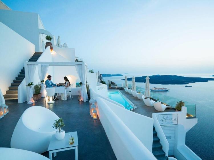 Athina Luxury Suites hotel luxus boutique design santorini luxury best