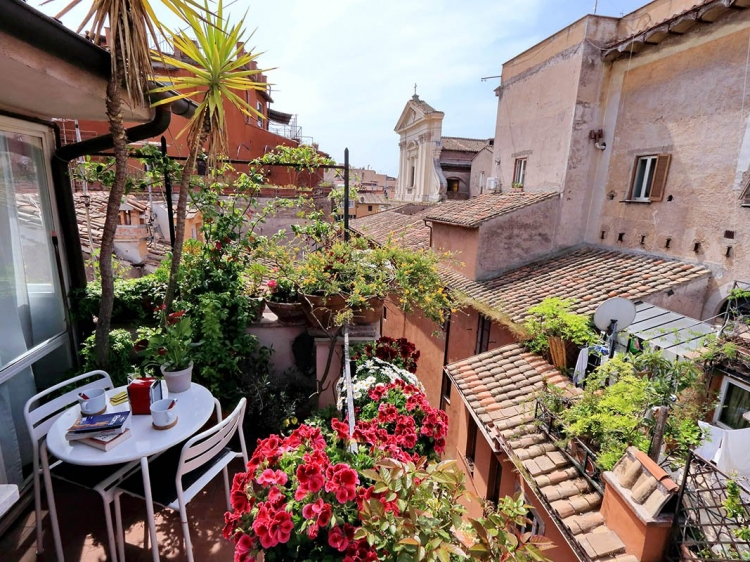 rome loft apartment center to rent best