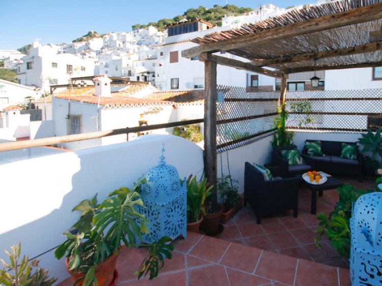 Casa Camachas Holiday House in Casares Spain malaga aprtment