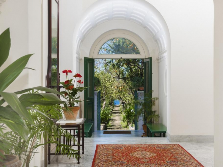 Villa Tozzoli House Sorrento Italy peaceful atmosphere