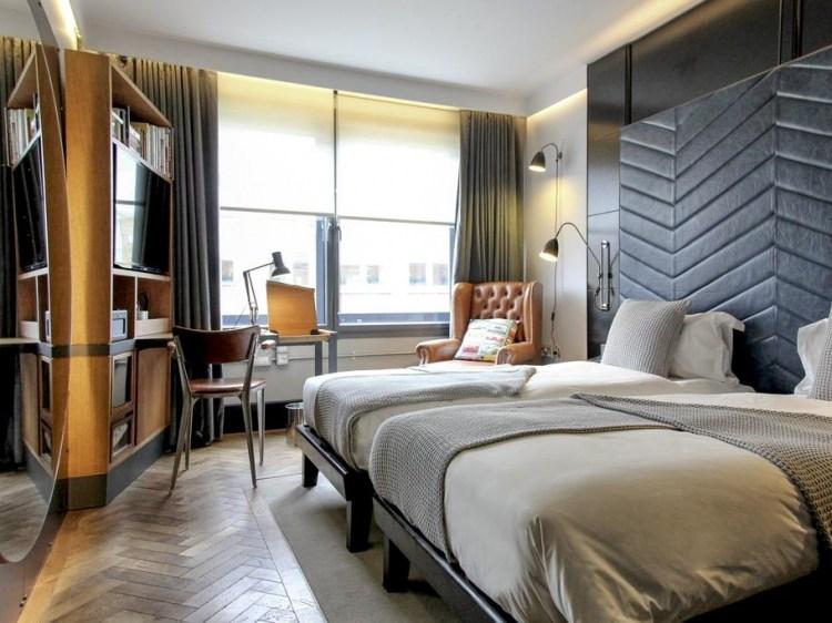The Hoxton Shoreditch London trendy hotel