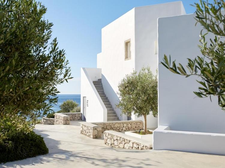 Milos Breeze Boutique Hotel Pollonia greek architecture