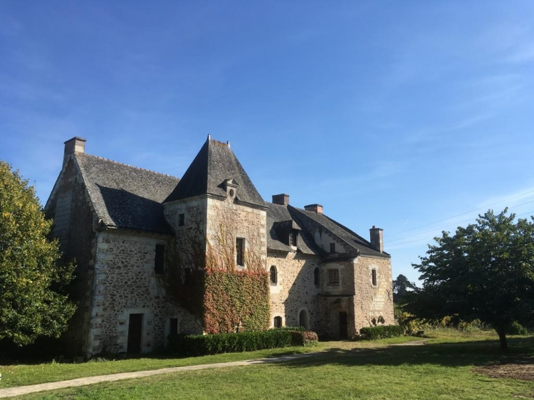 Manoir de Jouralem Blaison-Gohier  ancient building