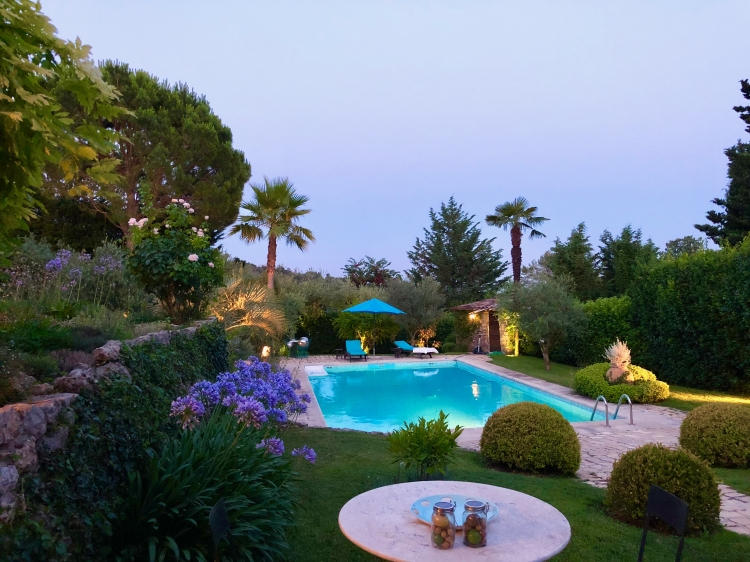 Staying at Villa Lavande Grasse Cannes lavander nature france