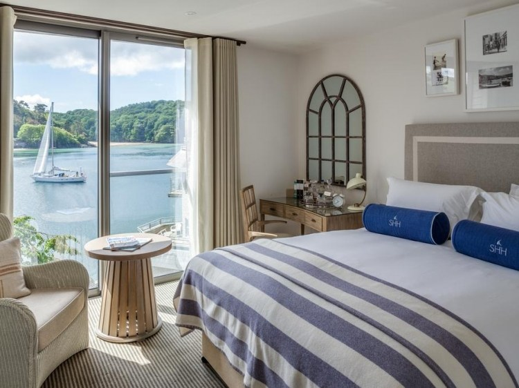 Stay at Salcombe Harbour Hotel & Spa Salcombe South Devon Stay at hotel lodging boutique best cheap luxury unique trendy cool small