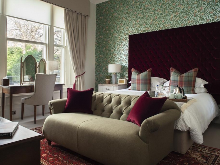 The Dunstane Houses Edinburgh Scotland hotel lodging boutique best luxury unique small