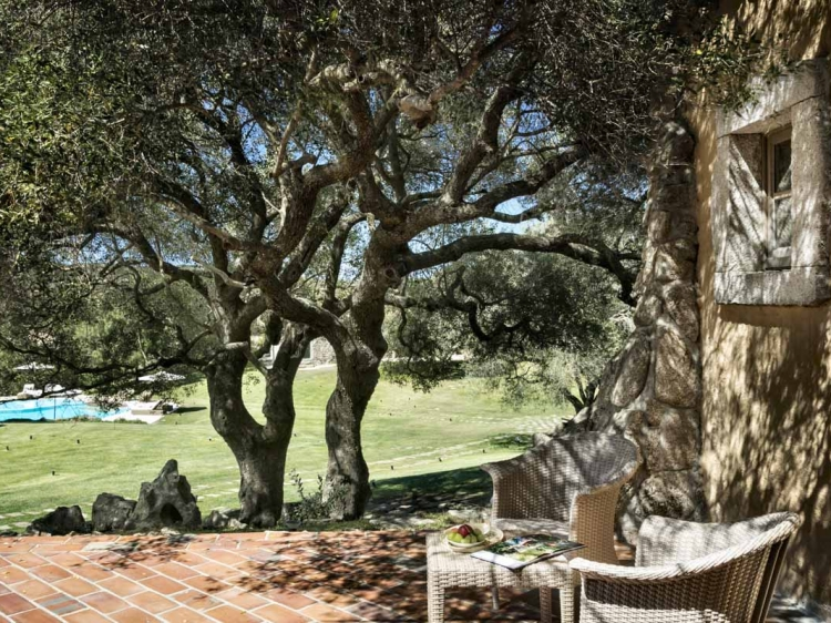Best Charming Countryside Hotel Sardinia garden