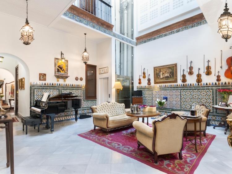 Hotel Amadeus Seville best boutique romantic