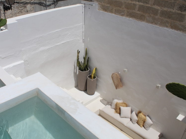 Riad in Matino apartment to rent puglia best