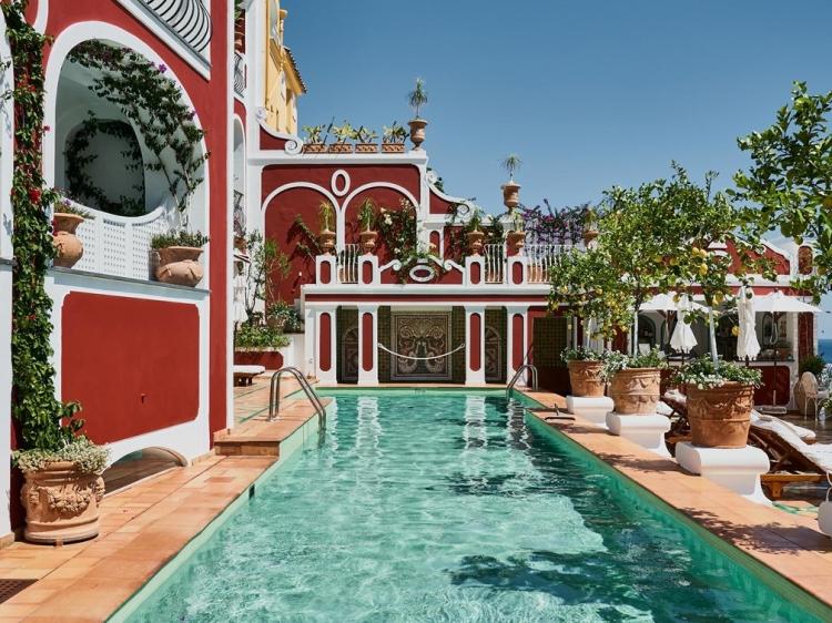 Le Sirenuse Hotel Amalfi Coast boutique