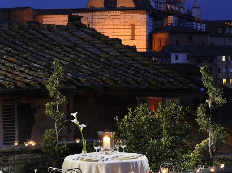 Grand Hotel Continental Tuscany Italy Terrace