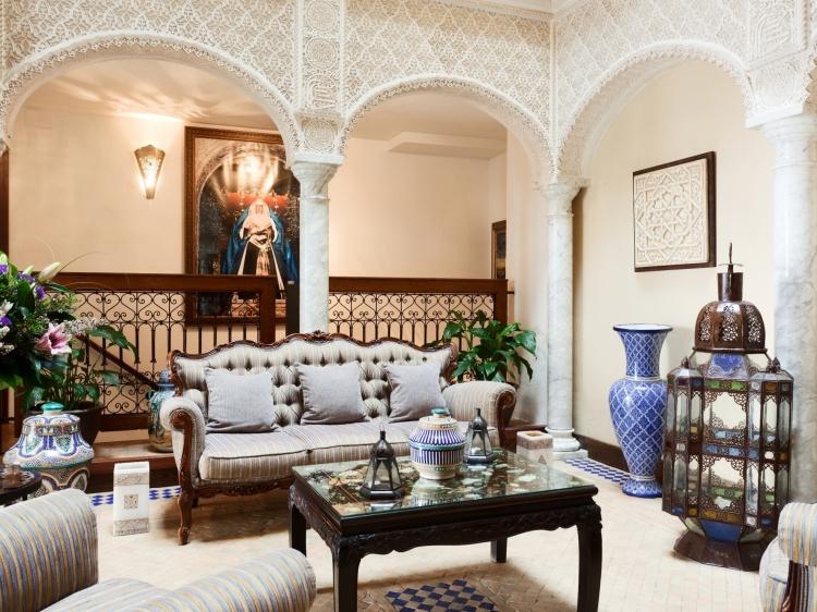 Alcoba del Rey de Sevilla beautiful hotel Seville Spain