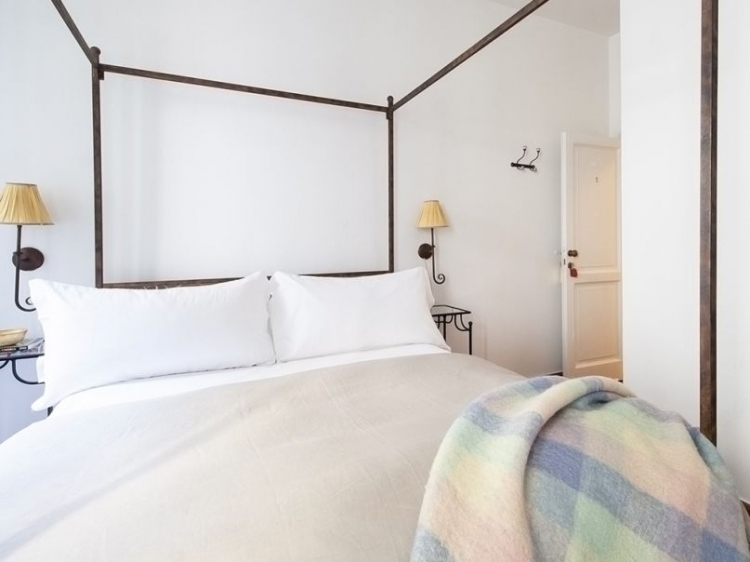 Le Stanze di Santa Croce Florence Italy CANOPY BEDROOM
