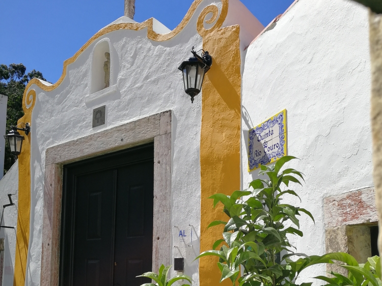 Quinta do Rio Touro - main entrance - outside