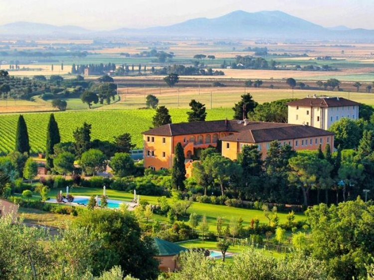L'Andana Tenuta la Badiola Tuscany Hotel Spa romantic best