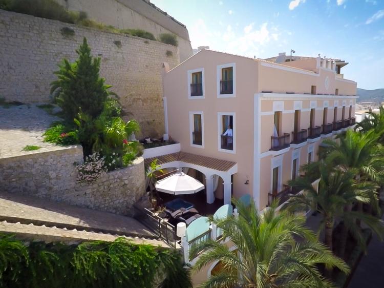 Hotel Mirador de Dalt Vila ibiza boutique hip