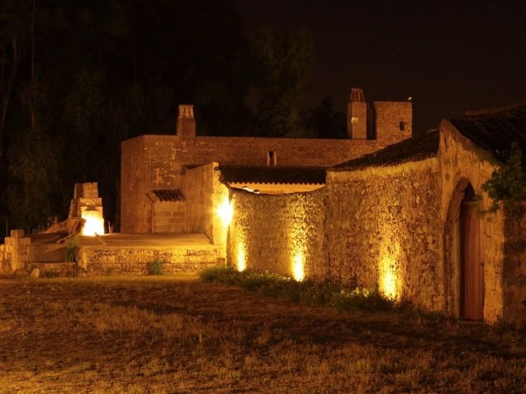 Masseria Uccio by night