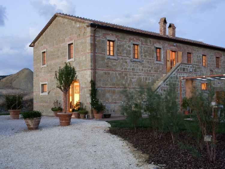 La Bandita country side hotel pienza tuscany boutique