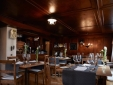 Restaurant at Boutique Hotel Schlüssel Beckenried, Lake Lucerne Switzerland