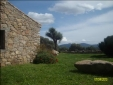 Angle ancient home and landscape views