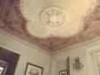 XVIII century frescoes in the suites