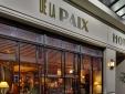 Hotel de la Paix paris boutique hotel best