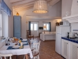 Azure House kitchen and living room - Casa Flor de Sal