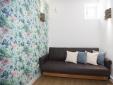 Otilia Apartments Lisbon Portugal Blue Living room