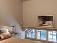 Orange Apartment: Master bedroom
