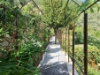 The pergola to La Foresteria
