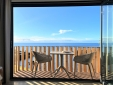 main bedroom with balcony, sea view