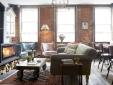 living room at Artist Residence hotel Pezane Conrwall