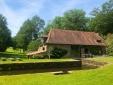 Le Moulin Chalais Dordogne peace garden nature