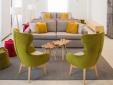 Stay at Quinta da Magnolia Hotel Azores Sao Jorge Portugal bright furniture fun