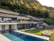 Staying at Private Spa Villas Tirolo Meran italy terrace sunbeds