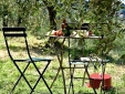 Snack among the olive trees